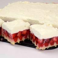 Ciasto na gofrach z galaretką