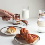 Drożdżówki z Nutellą na słodkie śniadanie