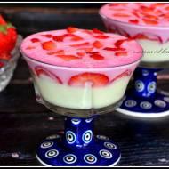 Deser waniliowo-truskawkowy