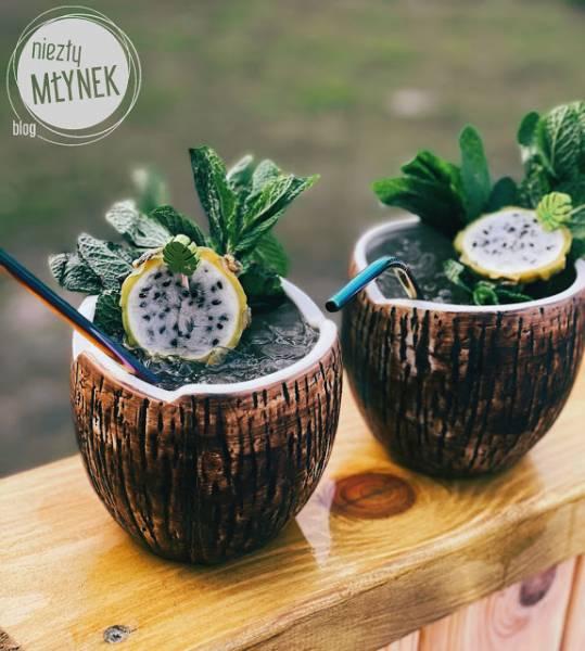 Orzeźwiające pitaja-kokoski