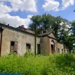 XIX wieczny dwór w Kobylnikach woj. łódzkie