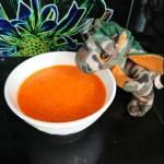 Zupa krem kukurydziano-pomidorowa