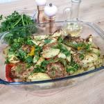 Papryka faszerowana  na z ziemniakami