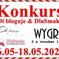Konkurs - Di bloguje & DlaSmaku - do wygrania 3 x voucher 100 zł