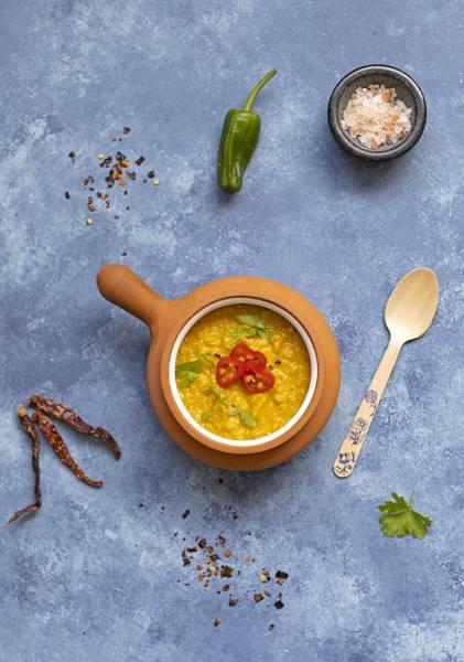 Zupa kukurydziana z papryczką chipotle