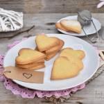 Kruche ciasteczka waniliowe serduszka