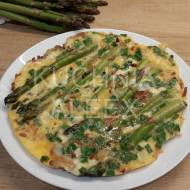 Omlet ze szparagami wg Aleex