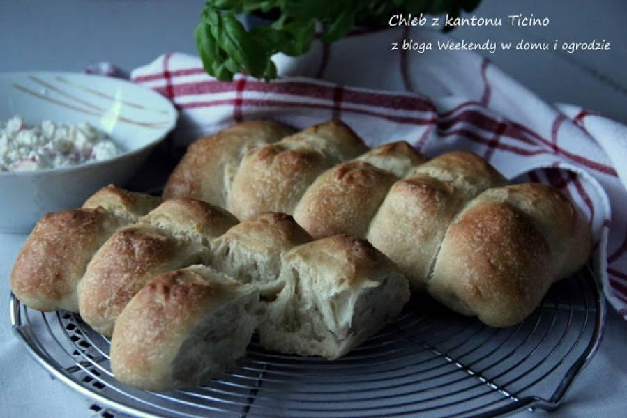 Szwajcarski chleb z kantonu Ticino