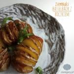 Pieczone ziemniaki hasselback z boczkiem