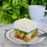 Ciasto zielona gruszka