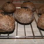 Kolejna keto bułka, na mące migdałowej i białkach
