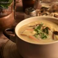 Zupa grzybowa z łazankami – kuchnia podkarpacka