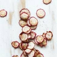Domowe chipsy z rzodkiewki