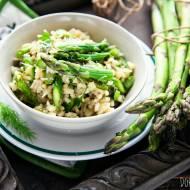 Szparagi z ryżem – danie jednogarnkowe