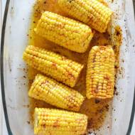 Pieczona kukurydza, najlepsza