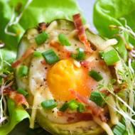 Jajka zapiekane w awokado FIT