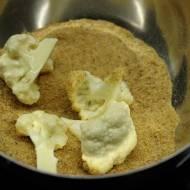 Kalafior pieczony w panierce (wegański)