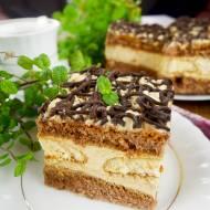 Ciasto Włoski Narzeczony – rewelacyjny biszkopt z kremem cappuccino