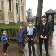 London turystyczny, znany i odwiedzany: Tower of London...