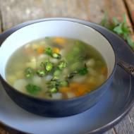 Zupa wiosenna ze szparagami