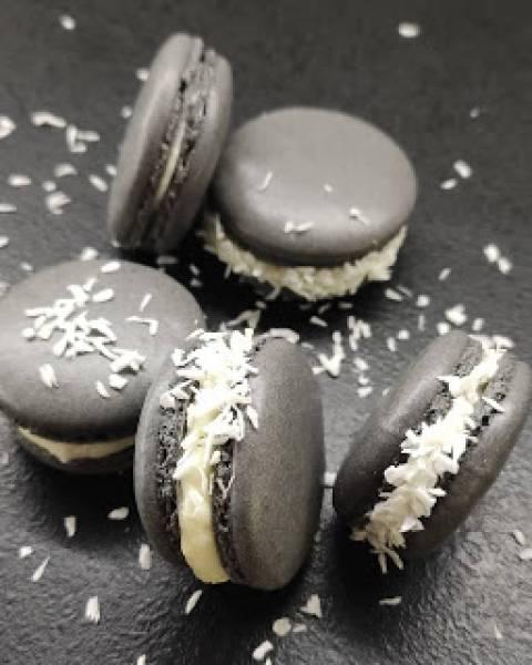 Makaroniki z czekoladą