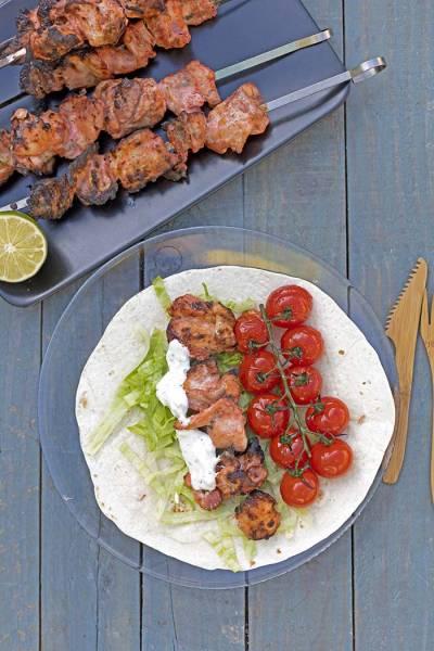 Perski kebab z kurczaka