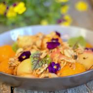 Gorące brzoskwinie z grilla