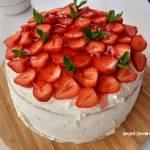 Tort truskawkowy - krok po kroku - pychotka!!