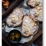 Bostocki z chałki, słodkie pieczywo z migdałowym kremem
