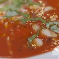 Prosta zupa pomidorowa z passaty #talerzdiabetyka