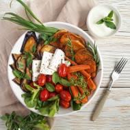 Sałatka z warzyw z grilla