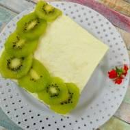 Zielone ciasto z kiwi bez pieczenia + film