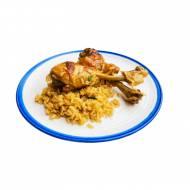 Pieczony kurczak adobo