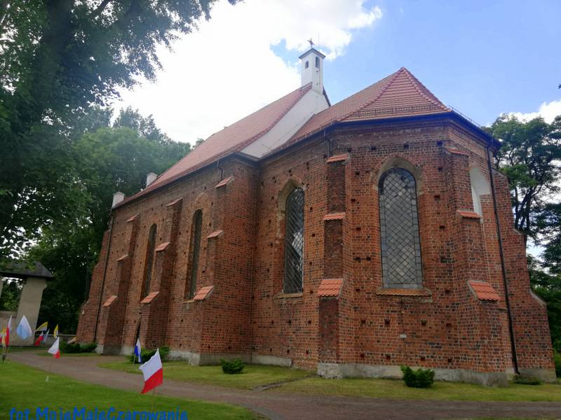 Kościół św. Marii Magdaleny w Kalinowej woj. łódzkie