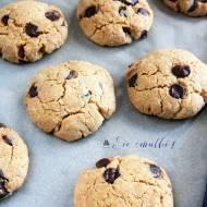Kruche ciastka z masłem orzechowym i czekoladą - nowy post na słodkich sio-smutkach