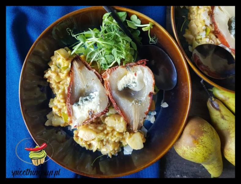 Gruszkowe risotto