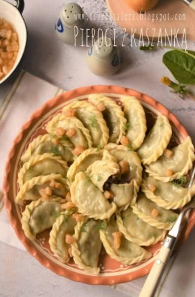 Pierogi z kaszanką - kuchni podkarpacka