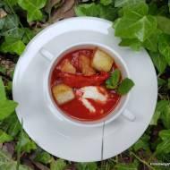 Kremowa zupa pomidorowa