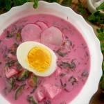 Chłodnik litewski – pyszna zupa z botwiny na zimno