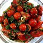 Koreańska sałatka z pomidorów
