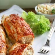 Naleśniki zapiekane z mięsem mielonym i serem
