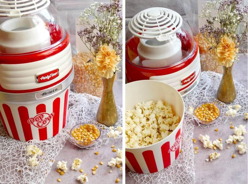 Zdrowy i beztłuszczowy popcorn w 2 minuty!
