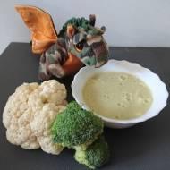 Zupa krem brokułowo-kalafiorowa