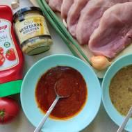Marynaty do mięs z grilla - musztardowa i ketchupowa