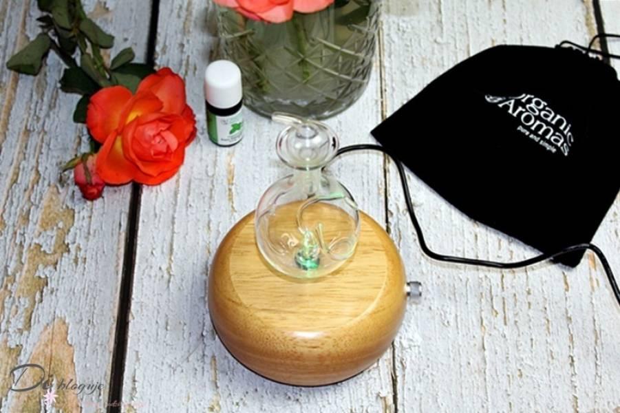 Dyfuzor nebulizujący Organic Aromas i niewykła moc aromaterapii