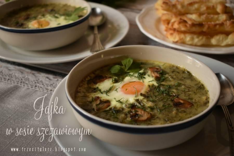 Jajka w sosie szczawiowym – kuchnia galicyjska