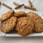 Ciasteczka owsiane z wiórkami kokosowymi