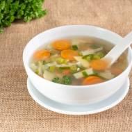 Zupa jarzynowa z klopsikami mięsnymi
