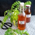 Domowy syrop z kwiatów akacji
