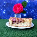 Ciasto z rabarbarem i czekoladą  ( obracane )